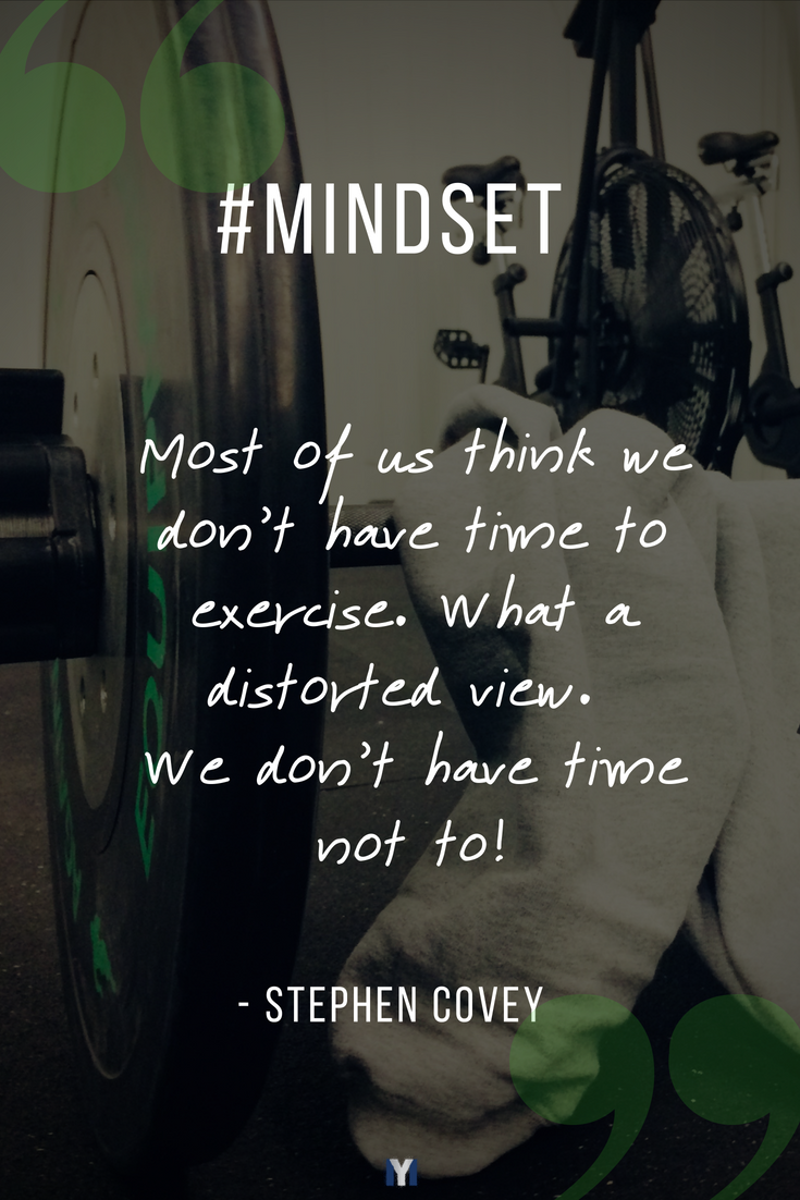 Inspirational quotes: Our mindset is one of the largest contributing factors to overall success.
