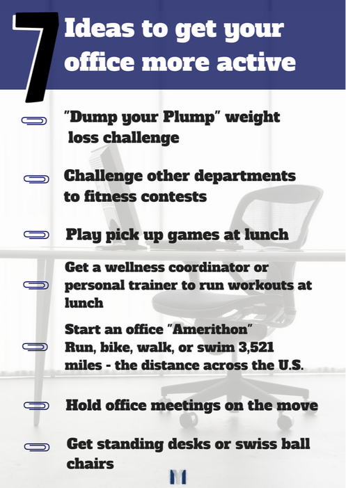 7 Ideas to get your office more active