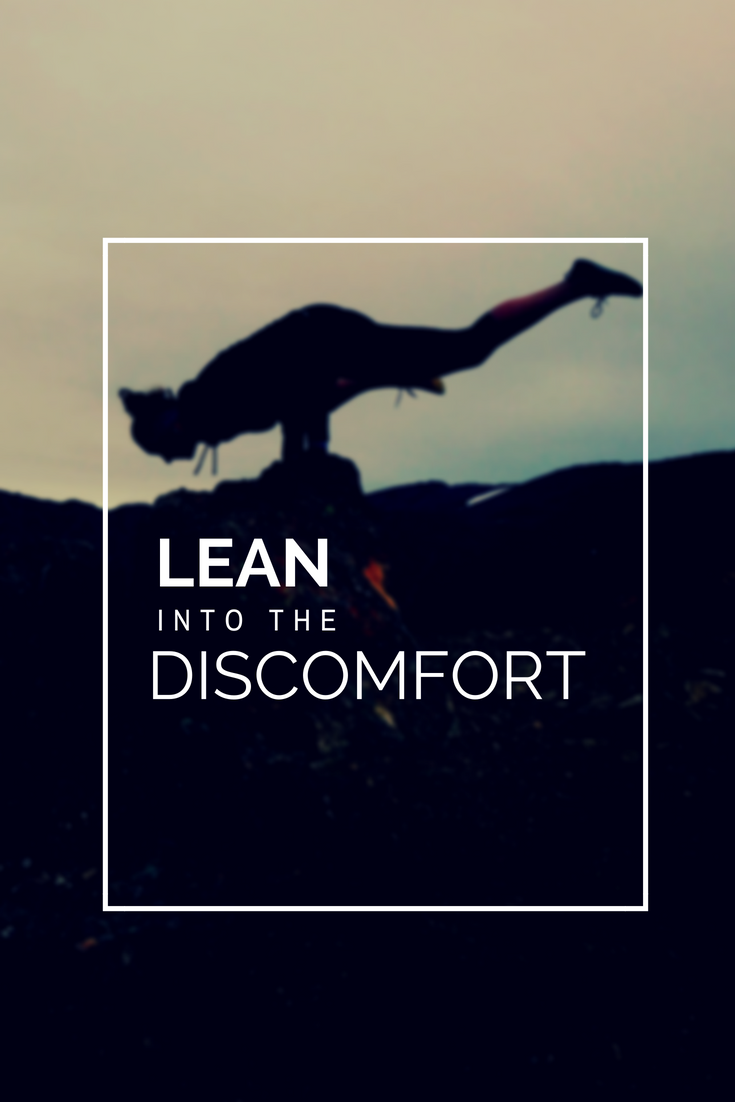 Workout motivation: lean into the discomfort